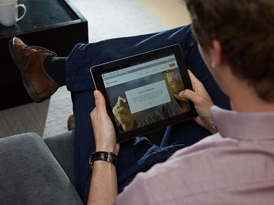 Strategik Responsive Site website responsive tablet branding minimal clean