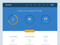 Proviseo Website Concept
