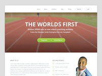 Wordpress Homepage Design