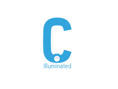 C. ui logo minimalist flat grey ux red typo white logotype branding blue
