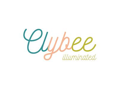 Clybee minimal logo logotype typo ui ux branding