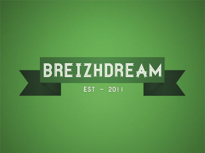 Breizhdream logo typo breizh
