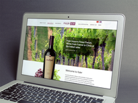 Website for Fuler Wine Whoesaler