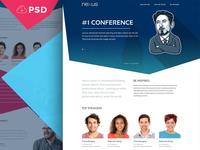 Free Website PSD