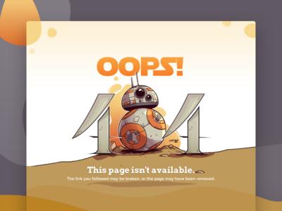 404 Page - UI Weekly Challenge