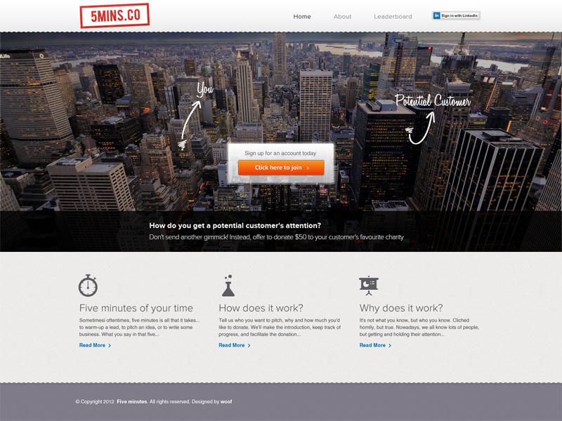 UI for a corporate business ui corporate orange manhattan woof web studio concept bootstrap interface design web