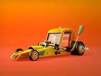 CarToon : The Racing Car