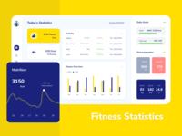 Fitness Tracker - Dashboard UI