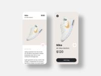 Buy Sneaker - Interaction Design
