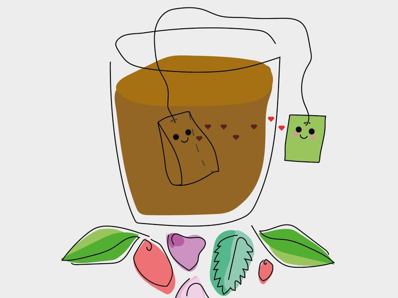 Tea is in love