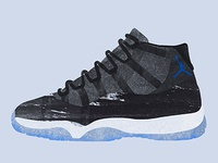 Jordan XI - Space Jam