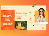 Orange Juice concept N2