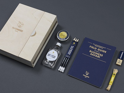 The Quintessentially Metaphorical Tuongee Survival Kit design book design branding direct mail packaging