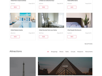 TravelCream – Travel Guide Landing Page FREE PSD website psd free white hotels page landing blue red flights booking travel
