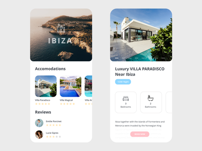 Lochouse App airbnb adobe adobe xd app app design beautiful house rent design free free resource free template free ui kit minimal prototype vector xd minimal app redesign concept