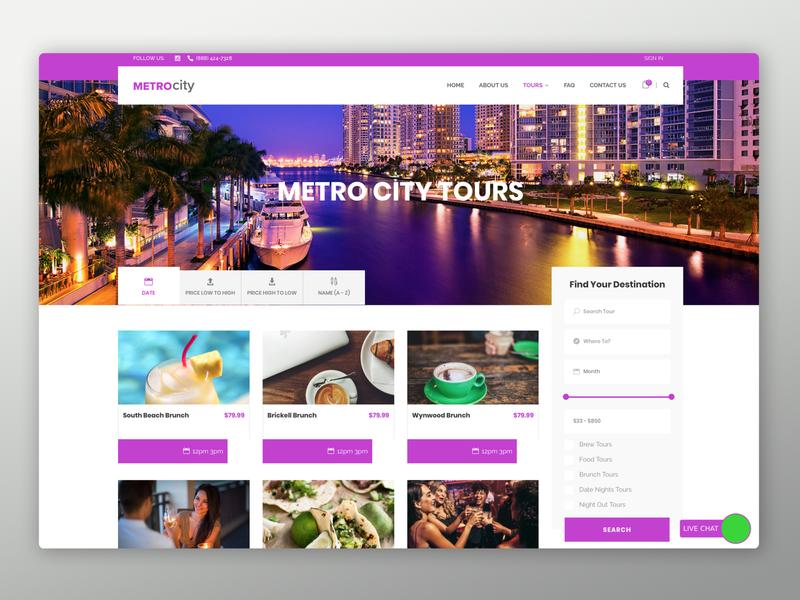Metro City Screens