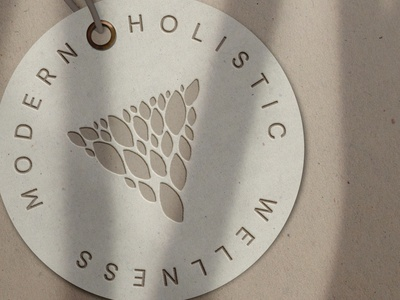 Ambu Holistic Wellness Logo holisticwellness ambu typography jillstclair simple logodesign logo design branding
