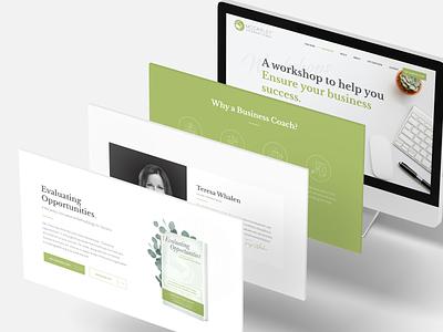 McCarley Website web jillstclair typogaphy logo branding design webdesign