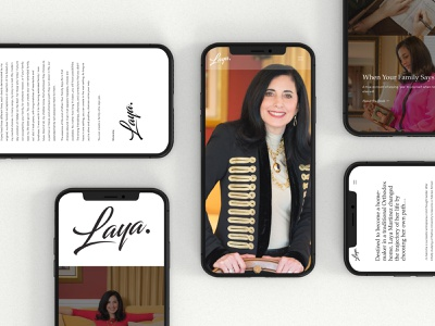 Laya Martinez Mobile Site jillstclaircreative user interface wordsforbusiness userfriendlydesign ux mobiledesign moderndesign marketingdigital phillydesign brandingidentity userinterface web design ui simple design branding