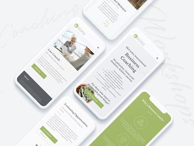 McCarley Mobile Screens user interface user experience uiux website design uxdesign jillstclaircreative web design jillstclair branding