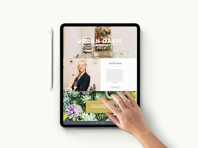 Room45 iPad Mockup brandingidentity marketing branding101 webdesign website web design jillstclaircreative jillstclair design branding