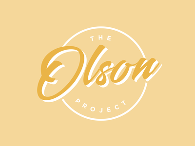 Alternate Olson Project Logo Concept
