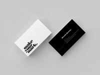 Make Your Mark Business Cards