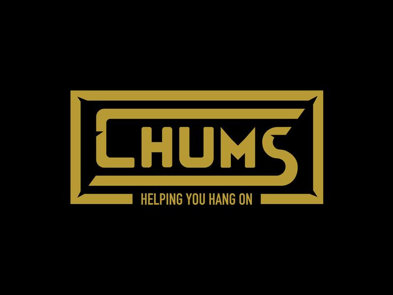 Chums Logo Badge badge design outdoors design branding