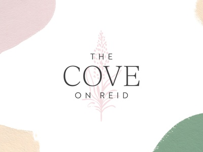 The Cove on Reid boutique boutique logo fashion typography logo design branding