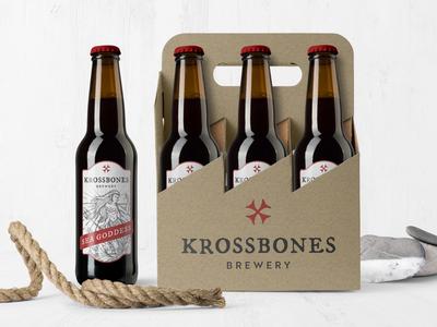 Krossbones Brewery Packaging