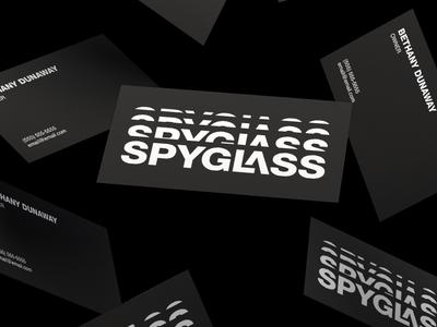 Spyglass Makeup Business Cards