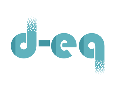 Logo d-eq project data privacy data protection data website branding design logo logo design