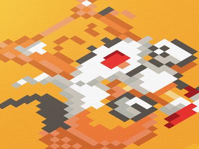 16-Bit Tails fan art