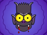 Bart the bat illustration