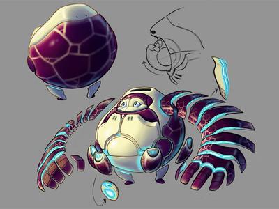 Personal Project Character Design science fiction visual development cute comics art concept visdev illustration design cartoon drawing character