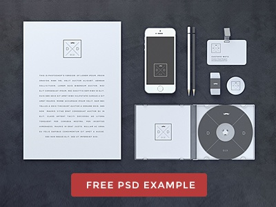 Blank Stationery / Branding Mock-Up mockup mock-up freebie branding stationary stationery free download