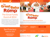 The Great Baby Romp Redesign