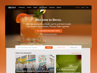 Bevvy Landing Page