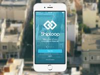 Shiploop Welcome Screen - Redeux