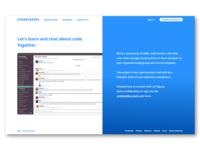 Codebuddies Landing Page Rebound