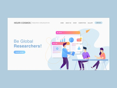 Research Organization Landing Page
