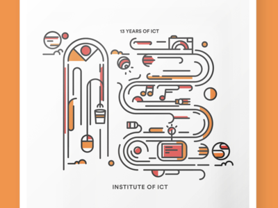 13 Years of ICT Poster