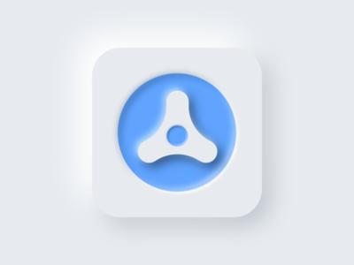 DailyUI 005 - Skeumorphic app Icon