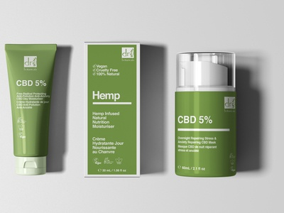 Hemp products packaging design