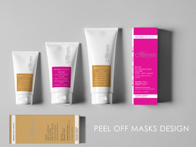 Skincare packaging/label designs