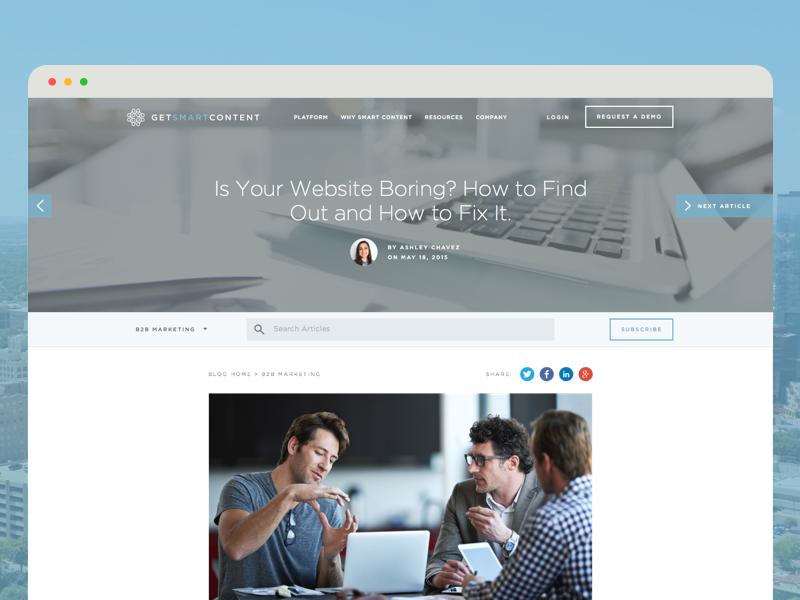 Blog UI design minimal clean interface design ui design ui