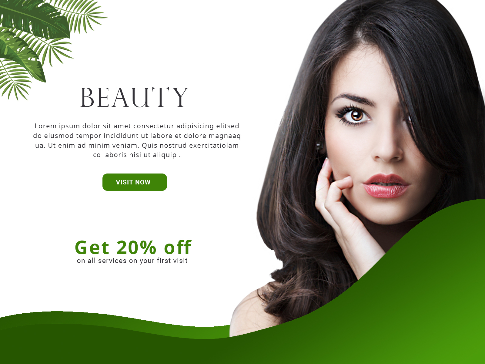 Beauty Banner Design By Visonitech On Dribbble