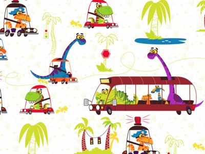 Dinosaur Pattern 1