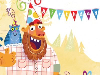 Happy Birthday Bearded Man