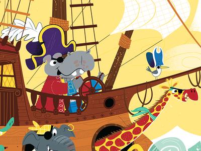 Animal Pirates - Captain Hippo